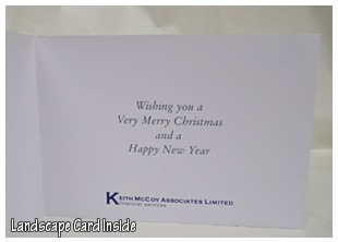Asap printing redditch below landscape style christmas cards approx size 210mm x 150mm reheart Image collections